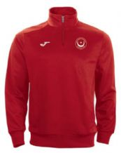 Drogheda & District Athletic Club Joma Combi 1/4 Zip Sweatshirt Red Adults 2020